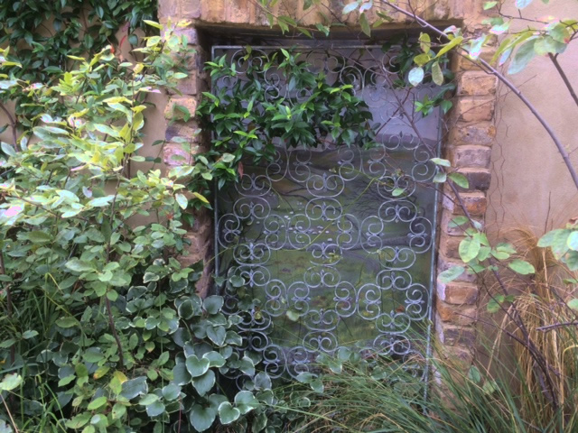 Secret garden hidden gate
