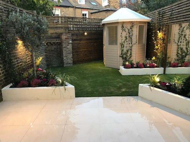 Summer house garden, Clapham