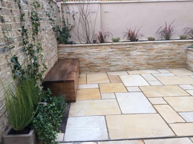 Moroccan inspired garden, Battersea